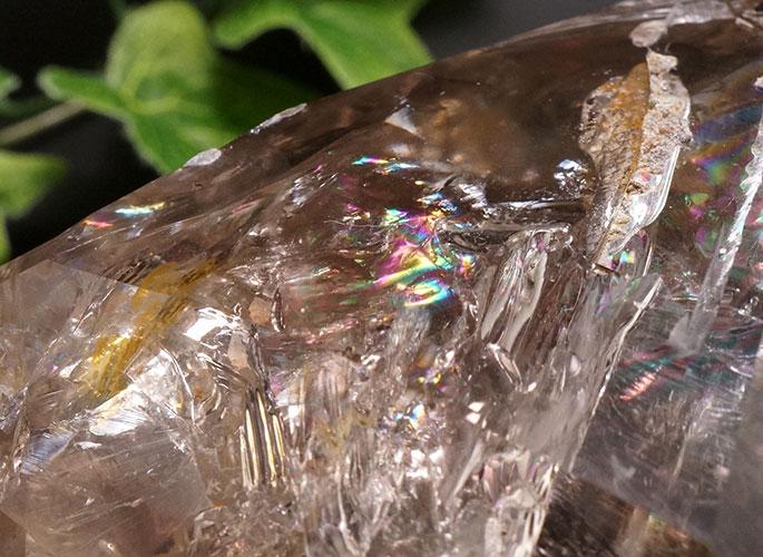 スモーキーハーキマーダイヤモンド(レインボー)-4