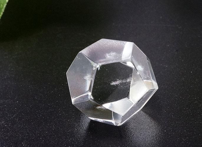 ヒマラヤ水晶 プラトン立体 5個セット-0
