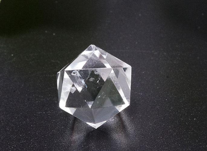 ヒマラヤ水晶 プラトン立体 5個セット-2
