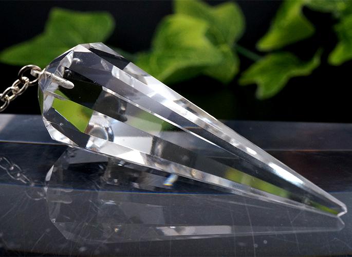 ヒマラヤ水晶 ペンデュラム